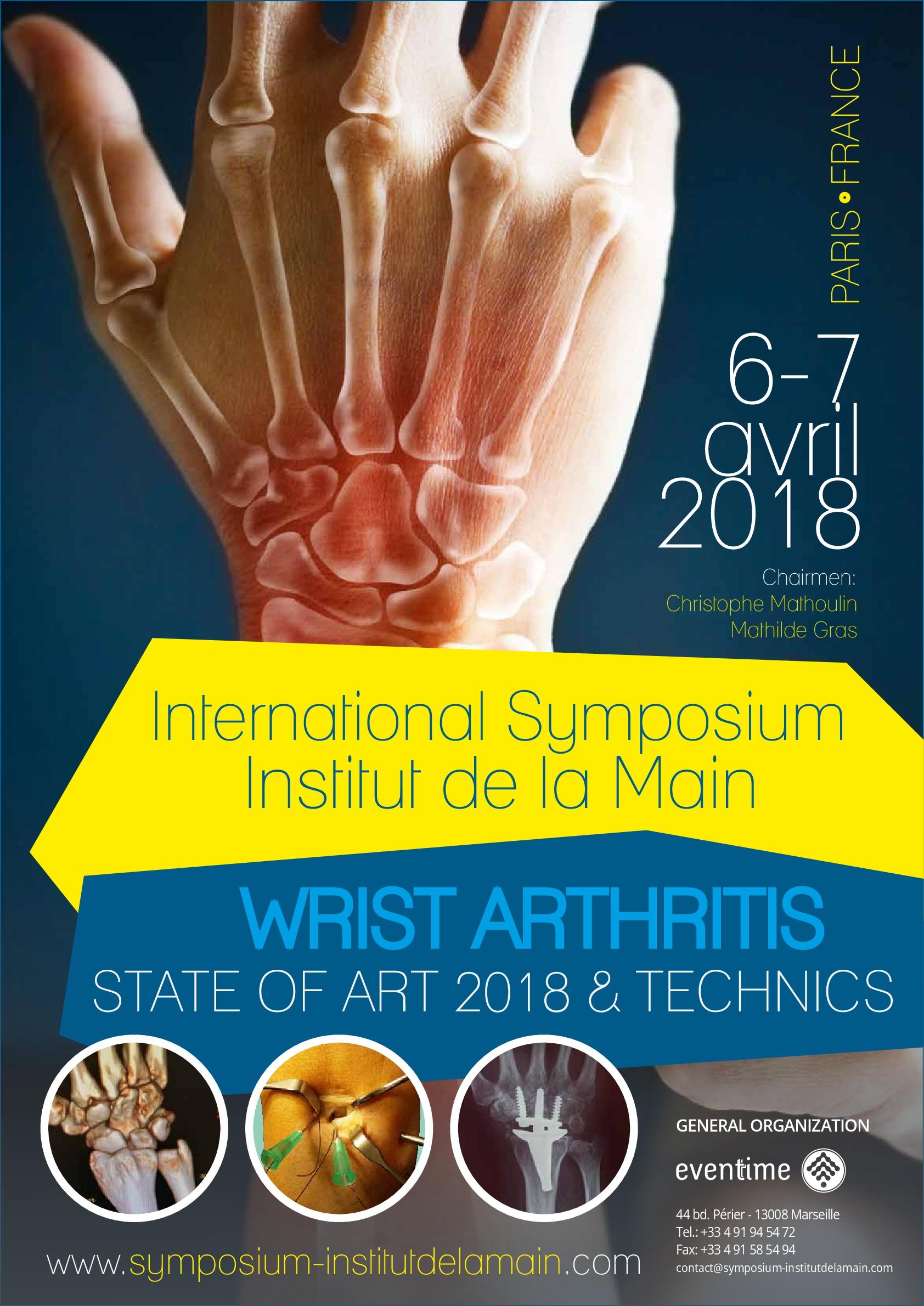 Symposium IDM 2018 affiche