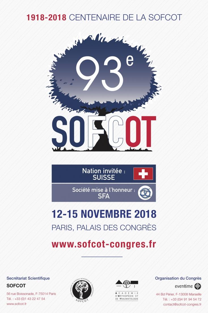SOFCOT 2018 affiche