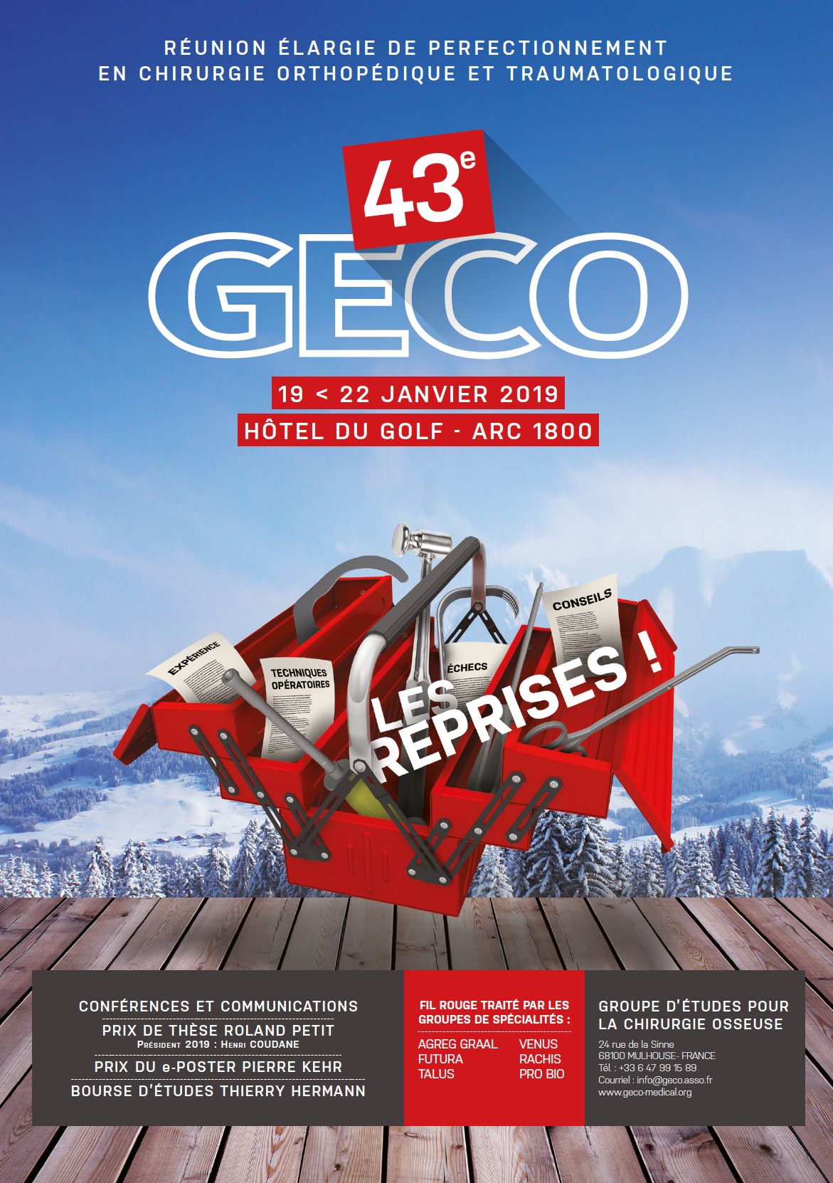 GECO 2019 affiche